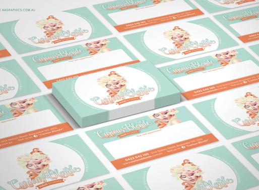 Rebranding: Curious Blonde Hair Studio