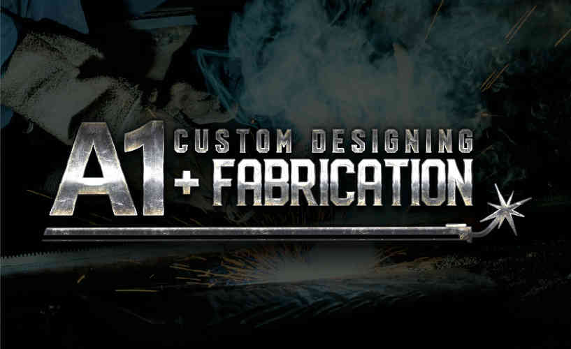 A1 Custom Designing and Fabrication_LOGO