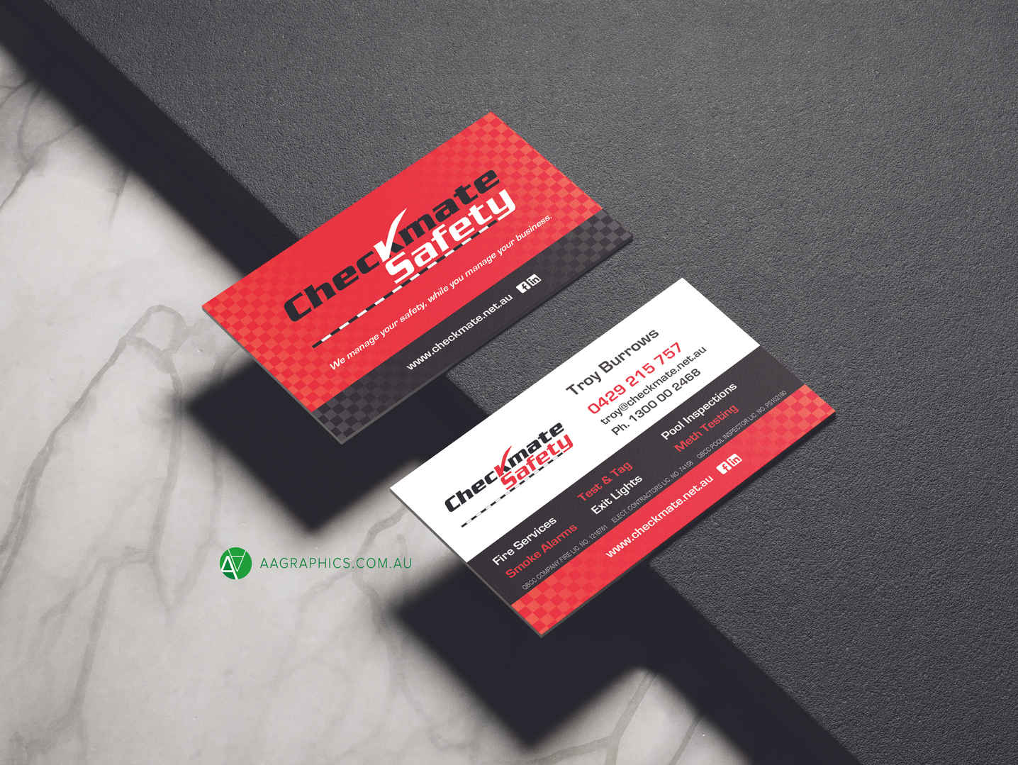 Checkmate Safety_Business Card_AA Graphi