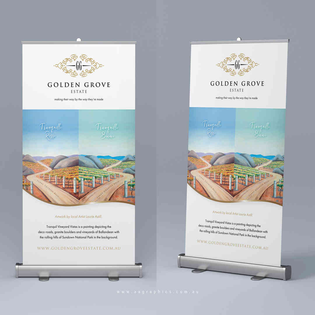 AA Graphics_Pull Up Banner_Golden Grove