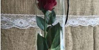 Single Rose Cylinder Arrangement
