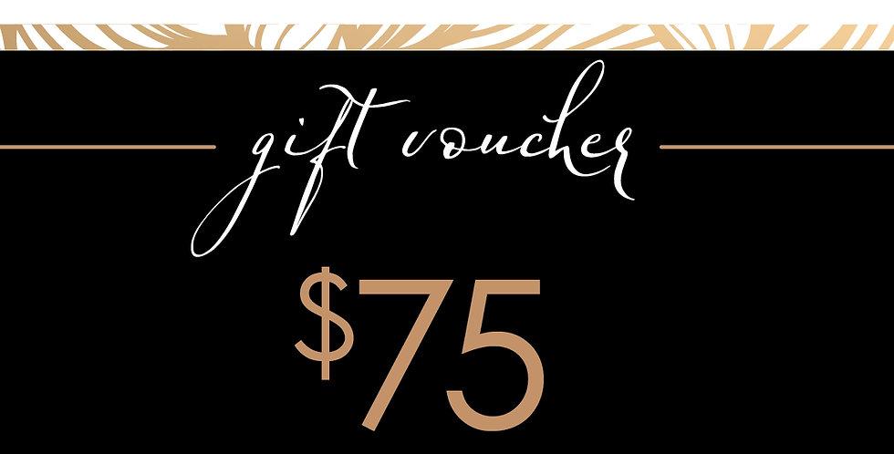 Gift Voucher $75