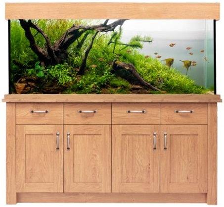 Aqua one Oakstyle 300L Aquarium and Cabinet