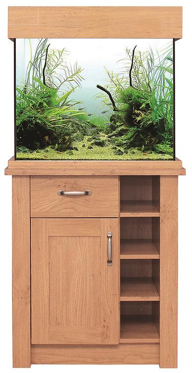 Aqua one Oakstyle 110L Aquarium and Cabinet