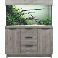 Aquaone Oakstyle Urban Grey 230L Aquarium and Cabinet