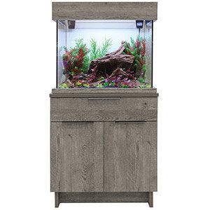 Aquaone Oakstyle Urban Grey 110L Aquarium and Cabinet