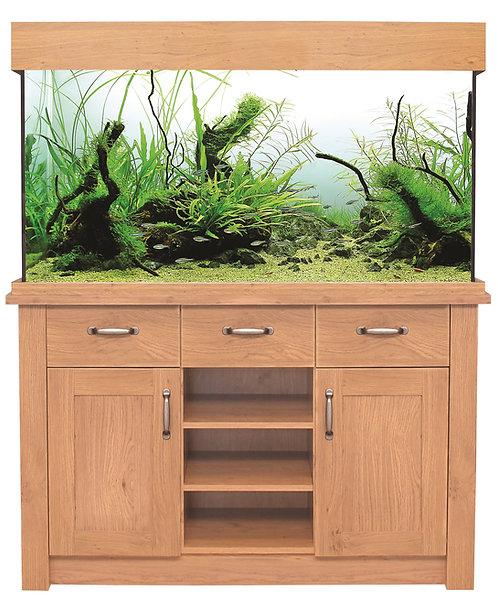 AquaOne Oakstyle 230L Aquarium and Cabinet