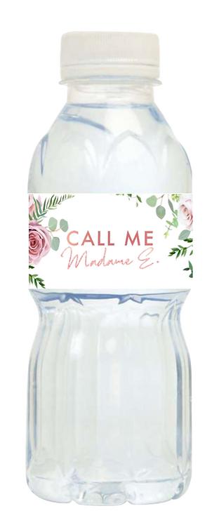 Mini bouteille d'eau