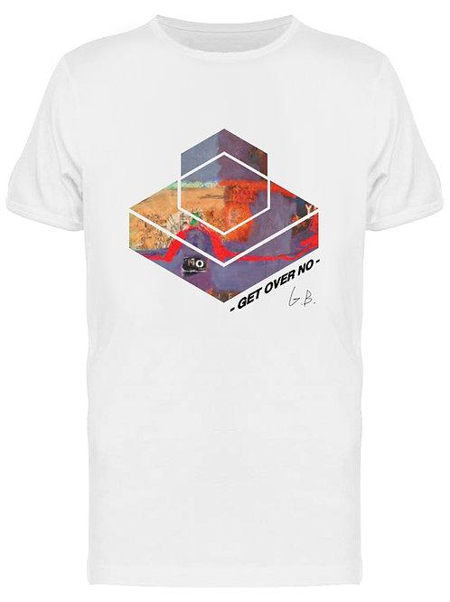 Get Over No Men's White T-Shirt