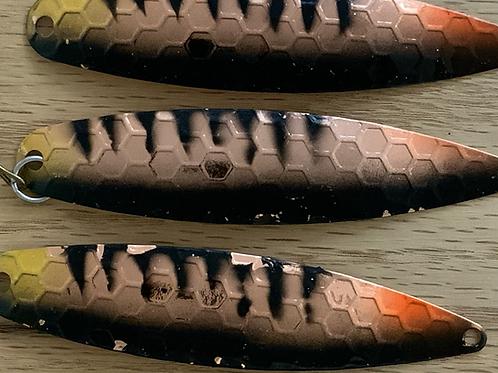 "Blemish Orange Perch 3 5/8"" Spoon"
