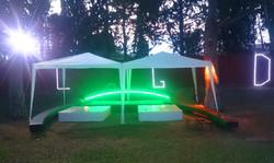 Salon jardin iluminado LGD