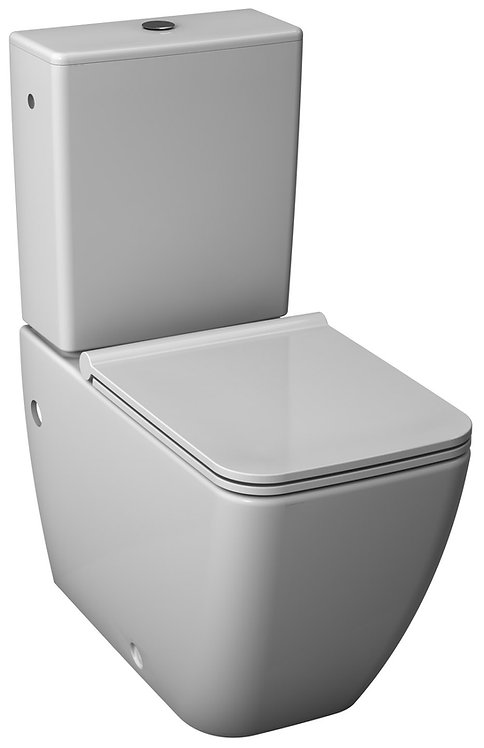 JIKA PURE TOILETS CLOSE-COUPLED WHITE