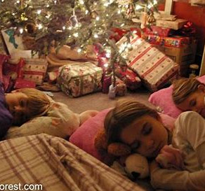 All I want for Christmas is a good night's sleep!