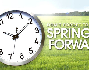Morning Spring!  A Guide to the clock change.