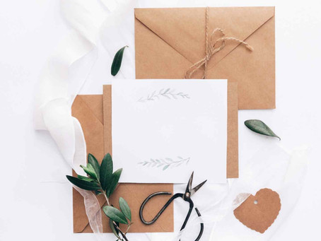 3 Reasons To Write Bride & Groom Wedding Day Letters