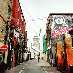 Womanby Street in Cardiff