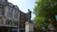 John Batchelor Statue, The Hayes, Cardiff