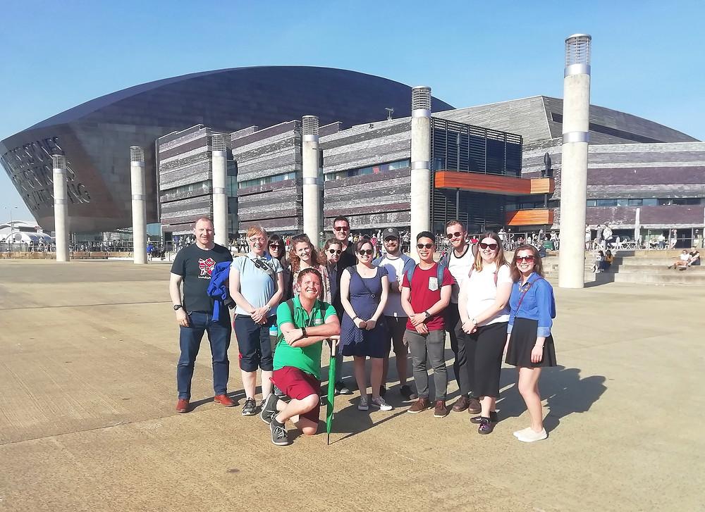 Cardiff Bay free walking tour