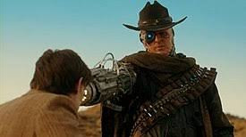 The Gunslinger  was the main protagonist in the wild west themed story of Doctor Who Series 7, 'A Town Called Mercy'