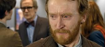 Tony Curran as Vincent van Gogh and Billy Nighy as the museum curator in the Doctor Who story, 'Vincent and the Doctor'