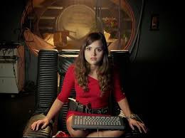 Jenna Coleman makes her first appearance in Doctor Who Series 7 in 'Asylum of the Daleks'.