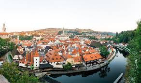 The Czech city of Český Krumlov is twinned with the Welsh town of Llanwrtyd Wells