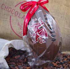 Welsh themed dragon Easter egg