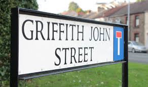 Swansea man, Griffith John, was a missionary in China, founding the Wuhan Union Hospital in 1866. There is a street named after him in his home city of Swansea.