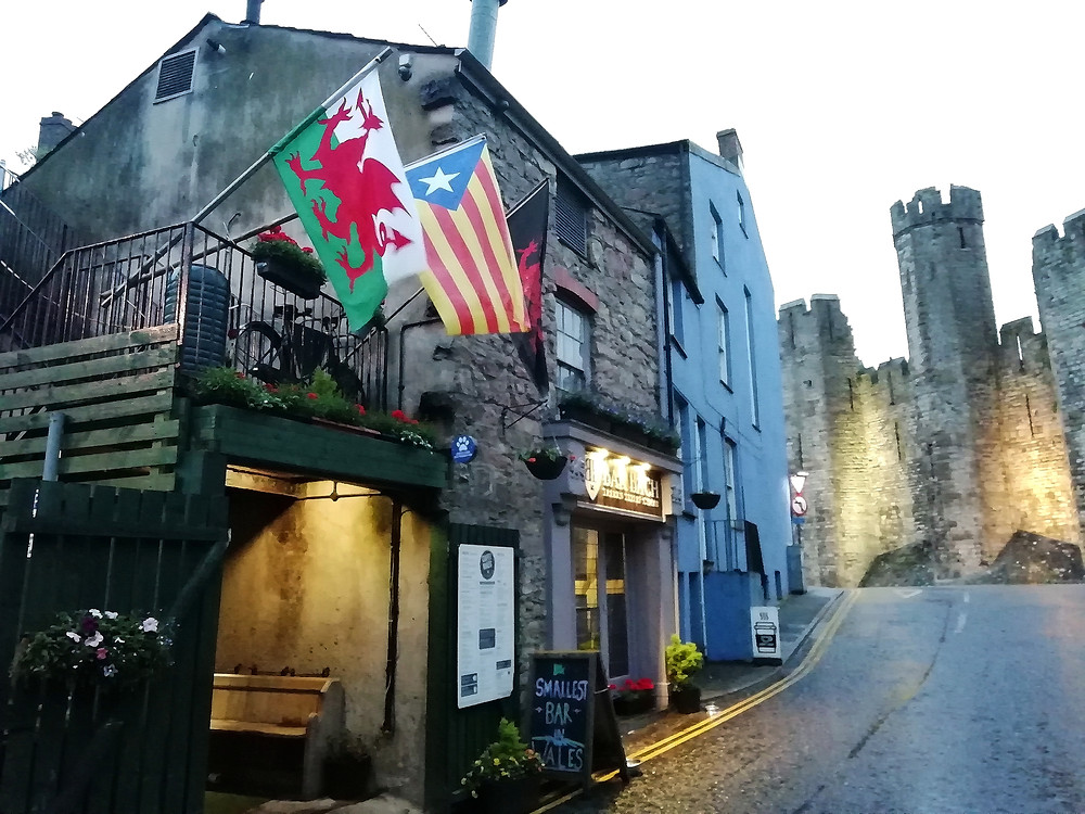 Bar Bach in Caernarfon is the smallest bar in all of Wales.