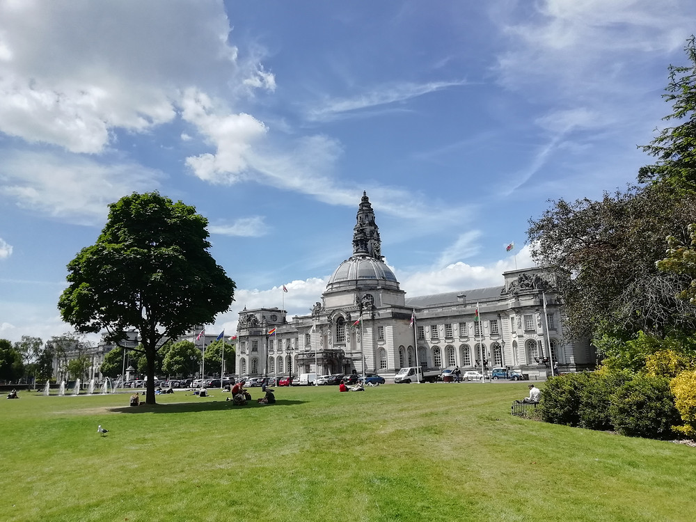 City Hall in Cardiff.