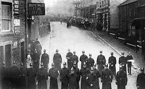 The Tonypandy Riots in Tonypandy, south Wales