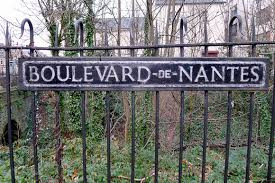 Boulevard de Nantes is a street in Cardiff, Wales, which is named after its twinning association with the French city of Nantes