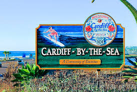 Cardiff-by-the-Sea is a town in Orange County, southern California. One of many Cardiff's stateside.