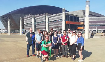 The Cardiff Bay free walking tour with Fogo's Free Tours