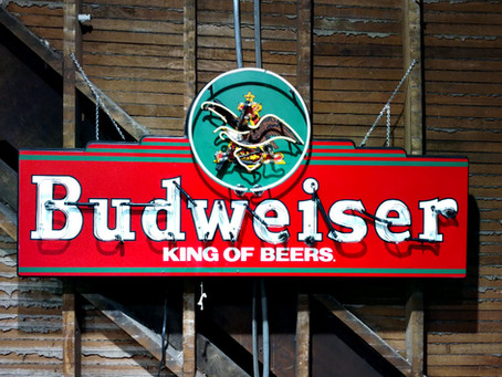 BUDWEISER NEON SIGN RESTORATION
