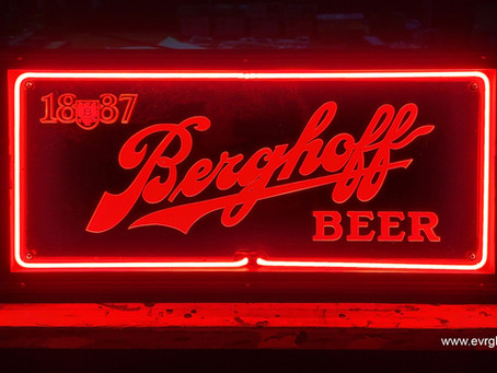 Berghoff Beer Neon Sign Restoration