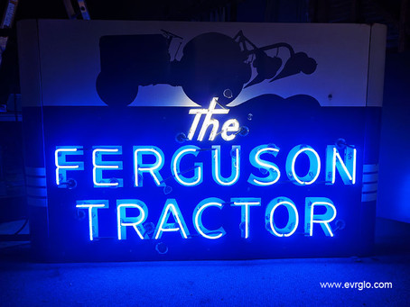 THE FERGUSON TRACTOR NEON SIGN
