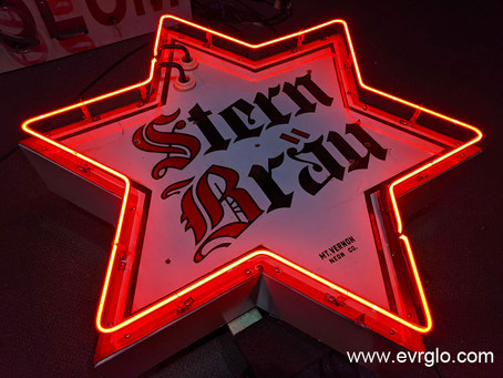 STERN BRAU BEER NEON SIGN