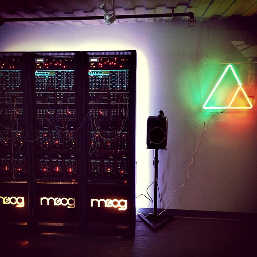 Moogfest 2014 Neon Signs