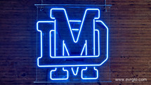 Mater_Dei_High_School_Breese_IL_Neon_Sig