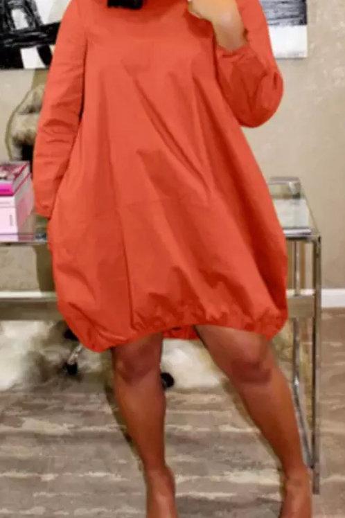 Balloon Dress L/S