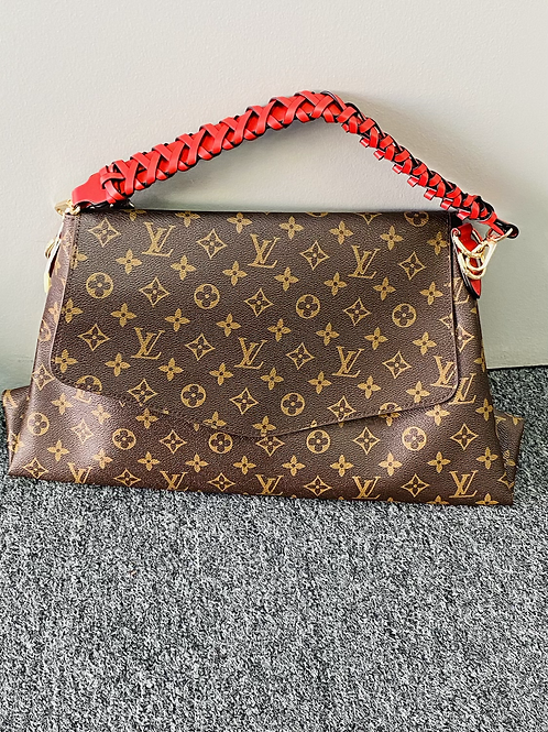 LV Braided w/ Flap