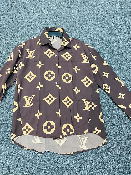 LV L/S Button Down