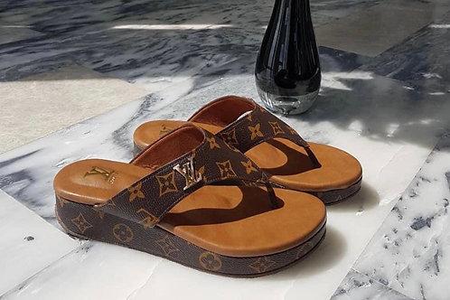 LV Wedge Sandal