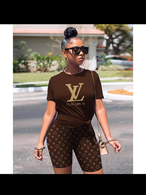 LV Signature Short Set