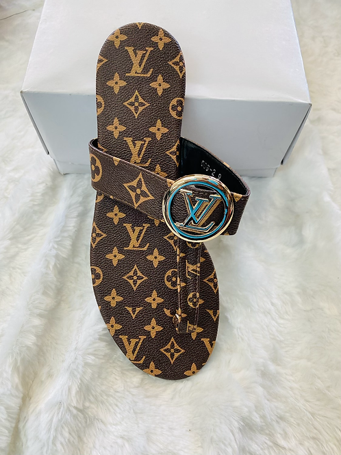 LV Gold Buckle