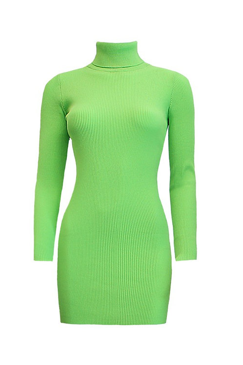 MONA TURTLENECK SWEATER DRESS