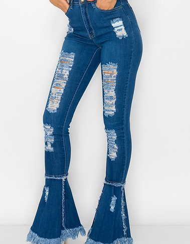 Fale Cone Bottom Jeans