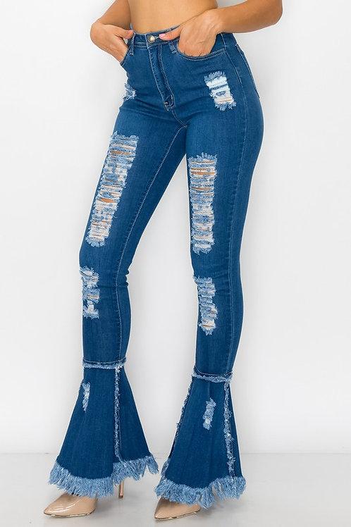 Fale/Barb Bottom Jeans