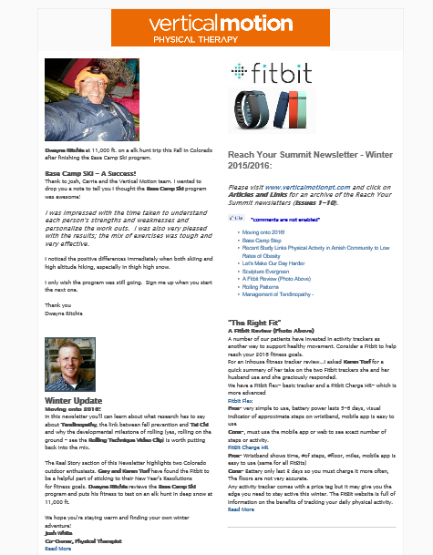 In this newsletter you'll can learn about what research has to say about Tendinopathy, the link between fall prevention and Tai Chi and why the developmental milestone of rolling (yes, rolling on the ground - see the Rolling Technique Video Clip) is worth putting back into the mix.